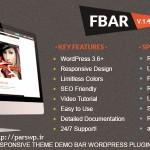 نمایش دموی قالب ها و اسکریپت ها FBar نسخه ۱٫۴