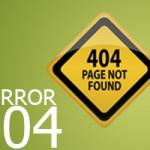خطای ۴۰۴ و ۴۰۳ و تاثیر برروی وب سایت