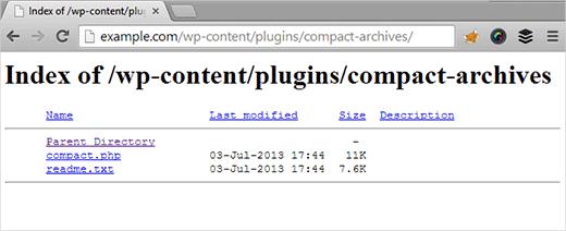 directory-browsing-parswp