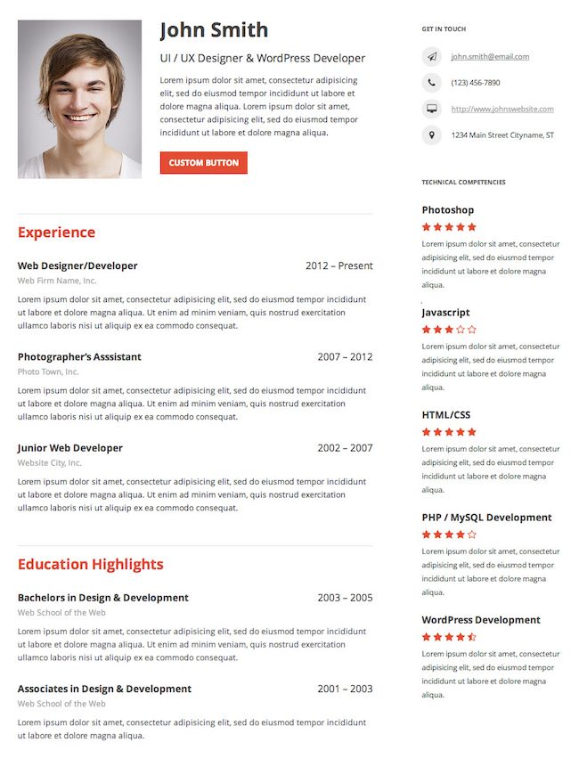 Resume-Builder-Plugin-WordPress-parswp