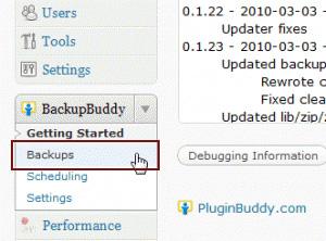 افزونه Backup Buddy پشتیبان گیری حرفه ای وردپرس