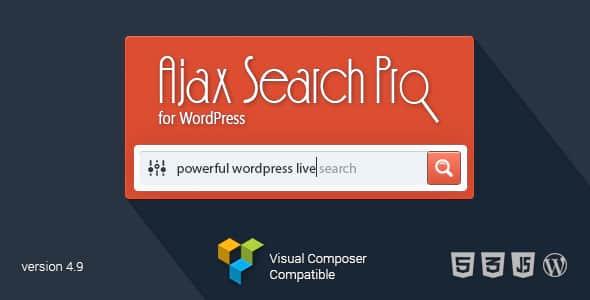 افزونه جستجوگر حرفه ای وردپرس Ajax Search Pro