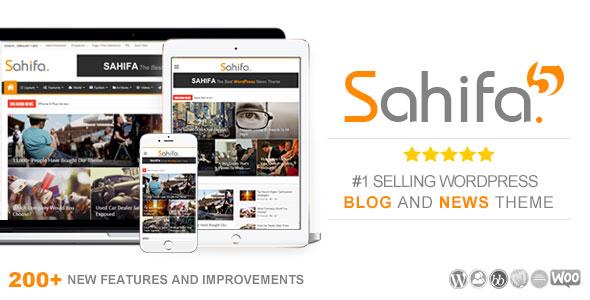 قالب صحیفه Sahifa - نسخه اورجینال و تجاری