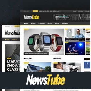 قالب خبری وردپرس newstube ورژن جدید