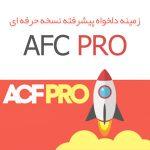 زمینه دلخواه پیشرفته نسخه حرفه ای – ACF Pro