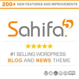 قالب صحیفه Sahifa – نسخه اورجینال و تجاری