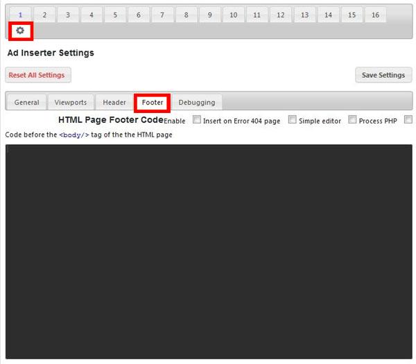 مدیریت تبلیغات در وردپرس با Ad Inserter
