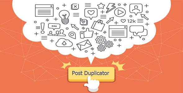 ساخت نسخه سریع از محتوا در وردپرس با Post Duplicator