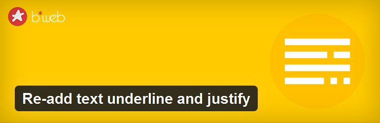 روش برگرداندن Justify و Underline به ادیتور وردپرس 4.7