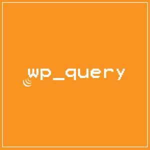 درخواست ارسال نوشته و برگه با wp_query وردپرس