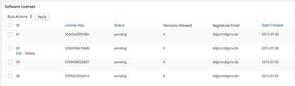 افزونه لایسنس محصولات edd در وردپرس با Software Licensing