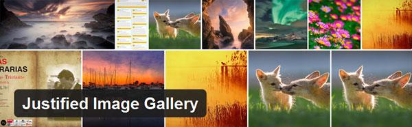 ایجاد گالری تصاویر حرفه ای در وردپرس با افزونه Justified Image Grid