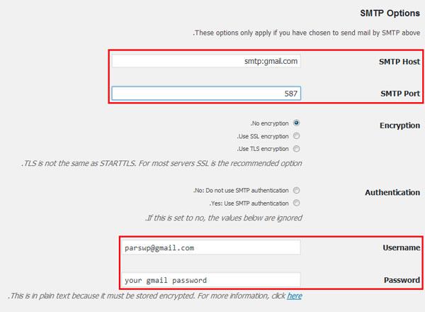 روش ارسال ایمیل در لوکال هاست وردپرس با WP Mail SMTP