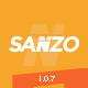 قالب فروشگاهی حرفه ای Sanzo (ووکامرس)